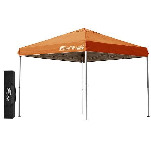 テント タープ タープテント 2.5m サイドフレーム強化版 ワンタッチ ワンタッチテント ワンタッチタープ 日よけ イベント アウトドア FIELDOOR 送料無料 maxshare 09