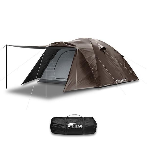 テント ドーム型 ファミリー 300cm 4人用 5人用 6人用 おしゃれ 大型 キャンプ フルクローズ アウトドア UVカット メッシュ 災害 防災 FIELDOOR 送料無料|maxshare|06