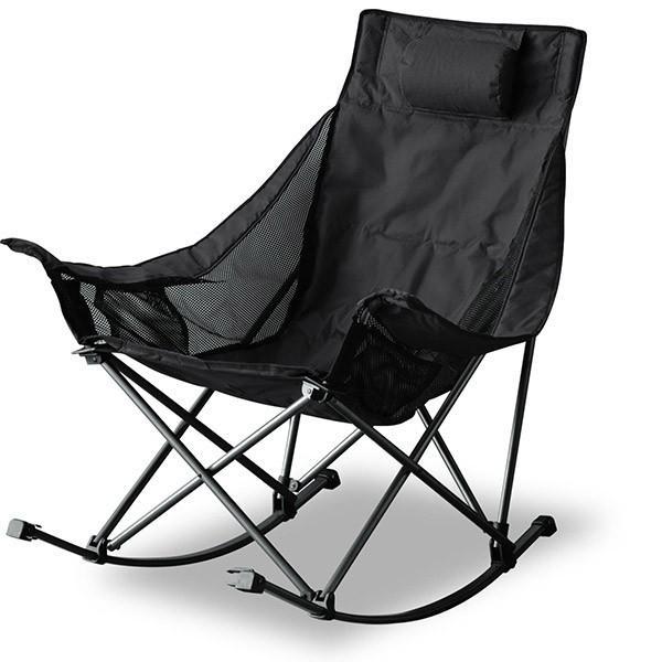 アウトドアチェア 折りたたみ ロッキングチェア 椅子 チェア コンパクトチェア ゆらゆら 揺れる リラックス キャンプ バーベキュー ベランダ FIELDOOR 送料無料|maxshare|05