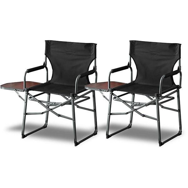 アウトドアチェア 折りたたみ テーブル 付き 2脚セット 軽量 椅子 チェア アウトドア 折りたたみチェア サイドテーブル キャンプ バーベキュー 送料無料 maxshare 05