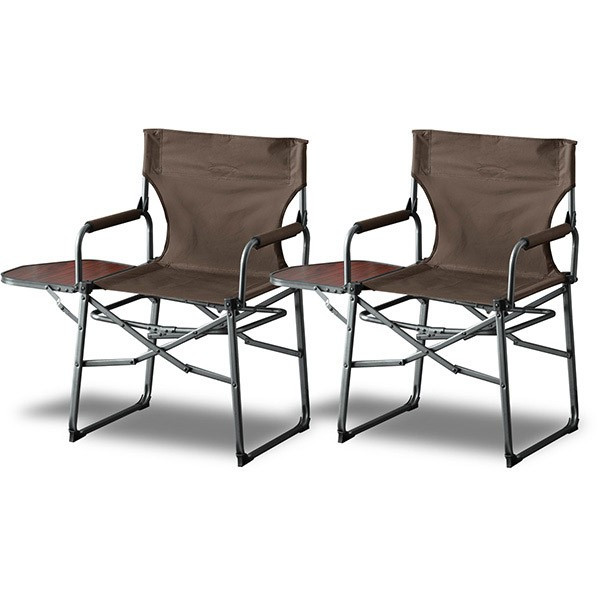 アウトドアチェア 折りたたみ テーブル 付き 2脚セット 軽量 椅子 チェア アウトドア 折りたたみチェア サイドテーブル キャンプ バーベキュー 送料無料 maxshare 06