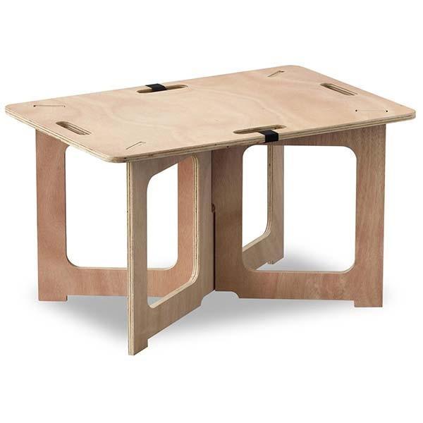 アウトドアテーブル レジャーテーブル コンパクト Mサイズ 幅 60cm 組み立て ミニ 木製 レジャー テーブル アウトドア キャンプ FIELDOOR フィールドア 送料無料|maxshare|22