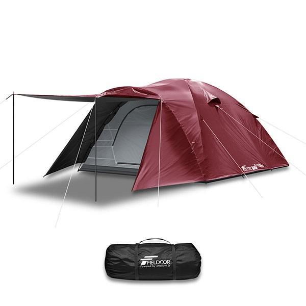 テント ドーム型 ファミリー 300cm 4人用 5人用 6人用 おしゃれ 大型 キャンプ フルクローズ アウトドア UVカット メッシュ 災害 防災 FIELDOOR 送料無料|maxshare|05