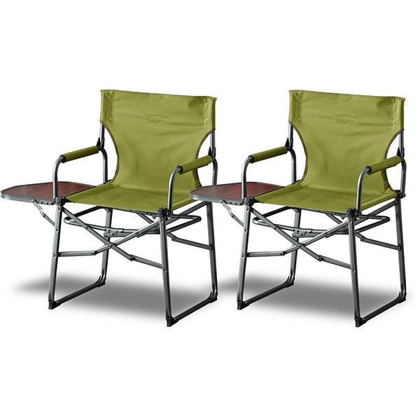 アウトドアチェア 折りたたみ テーブル 付き 2脚セット 軽量 椅子 チェア アウトドア 折りたたみチェア サイドテーブル キャンプ バーベキュー 送料無料 maxshare 07