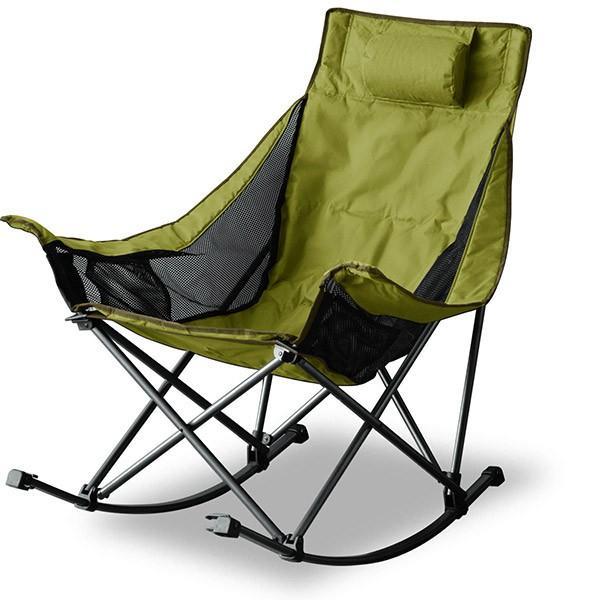 アウトドアチェア 折りたたみ ロッキングチェア 椅子 チェア コンパクトチェア ゆらゆら 揺れる リラックス キャンプ バーベキュー ベランダ FIELDOOR 送料無料|maxshare|07