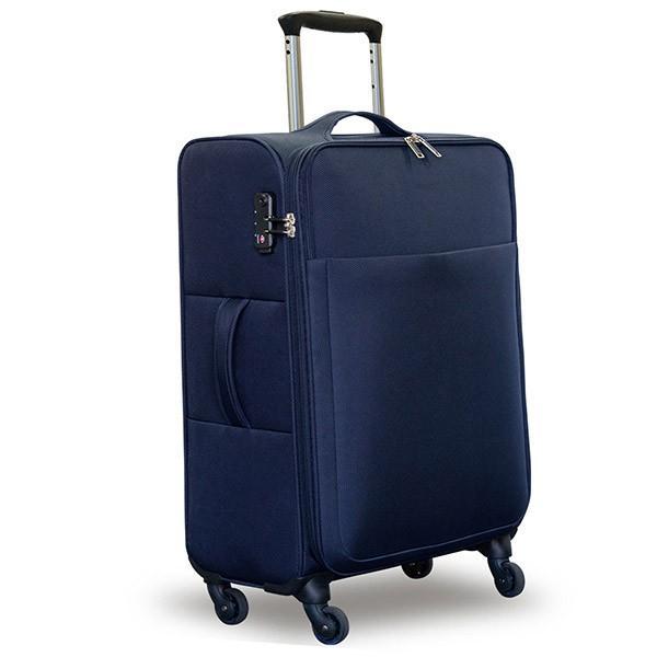 ソフトタイプスーツケース 軽量 おしゃれ キャリーバッグ キャリーケース Mサイズ 大型 大容量 おすすめ tsaロック ダイヤル式 旅行バッグ 送料無料|maxshare|06