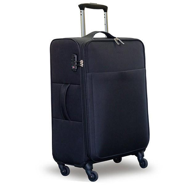 ソフトタイプスーツケース 軽量 おしゃれ キャリーバッグ キャリーケース Mサイズ 大型 大容量 おすすめ tsaロック ダイヤル式 旅行バッグ 送料無料|maxshare|05