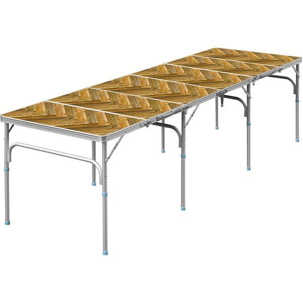 テーブル 折りたたみ アウトドア 折りたたみテーブル 六つ折り 収納式 アウトドアテーブル レジャーテーブル アルミ 製 高さ 調整 調節 送料無料|maxshare|11