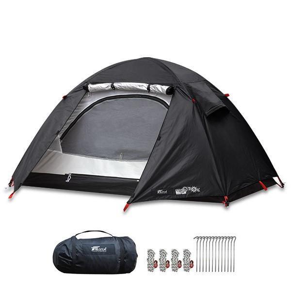 テント ソロテント 一人用 キャンプテント ソロキャンプ ドーム型 おしゃれ メッシュ フルクローズ キャノピー ツーリング バイク 小さい FIELDOOR 送料無料|maxshare|11