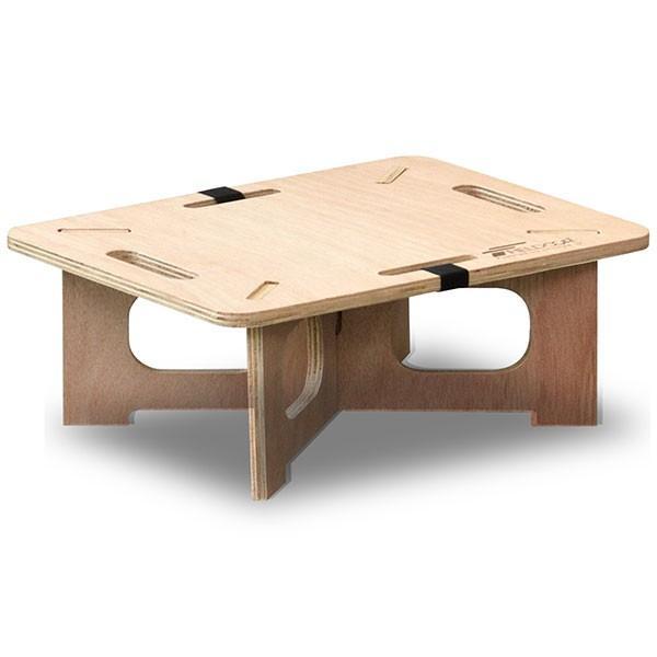 アウトドアテーブル レジャーテーブル コンパクト Sサイズ 木製 40cm ミニ レジャー テーブル 組み立て アウトドア キャンプ FIELDOOR フィールドア 送料無料|maxshare|22