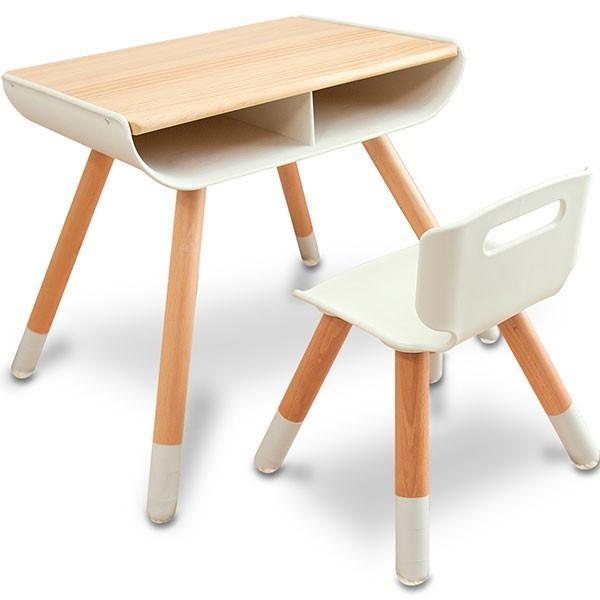 子供 デスク チェア セット 机 椅子 幼児用 キッズデスク 木製 子供用 収納付き キッズ テーブル 高さ調整 学習机 学習デスク 勉強机 RiZKiZ リズキズ 送料無料 maxshare 22