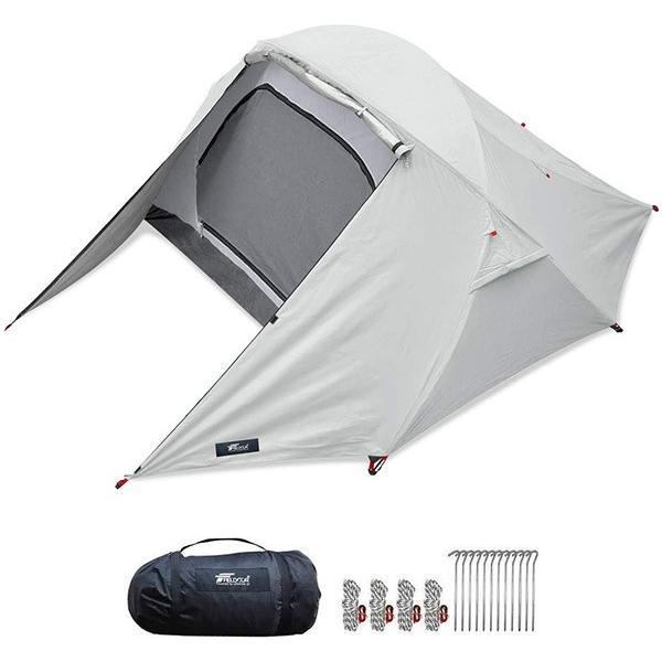 テント 2人用 ポールテント ドームテント クロスポールテント ドーム型 UVカット フルクローズテント 耐水圧 インナーテント キャノピー FIELDOOR 送料無料|maxshare|22