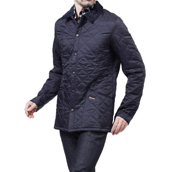 バブアー Barbour キルティングジャケット BARBOUR HERITAGE LIDDESDALE QUILT キルティングブルゾン メンズ mqu0240ny92-navy|mb-y|12