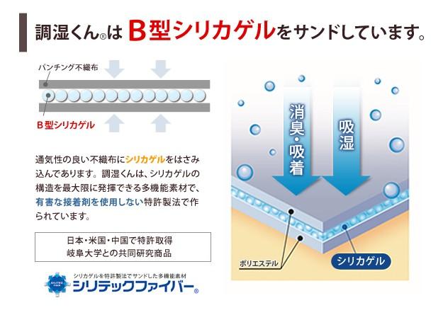 除湿シート 除湿マット 湿度調整マット 調湿くん セミシングル 80×180cm 洗える 71200008