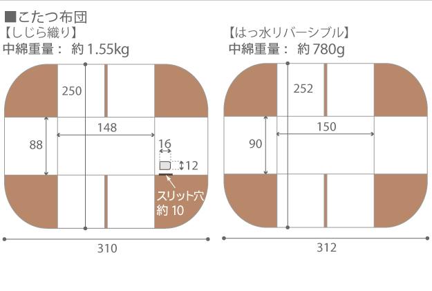 パワフルヒーター 高さ調節機能付きダイニングこたつ アコード 150x90cm6点セット(こたつ本体+専用省スペース布団+肘付き回転椅子4脚) I-2700157