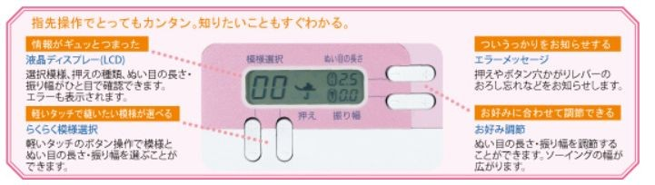 ミシン 初心者 ブラザー コンピューターミシン PS202 PS203