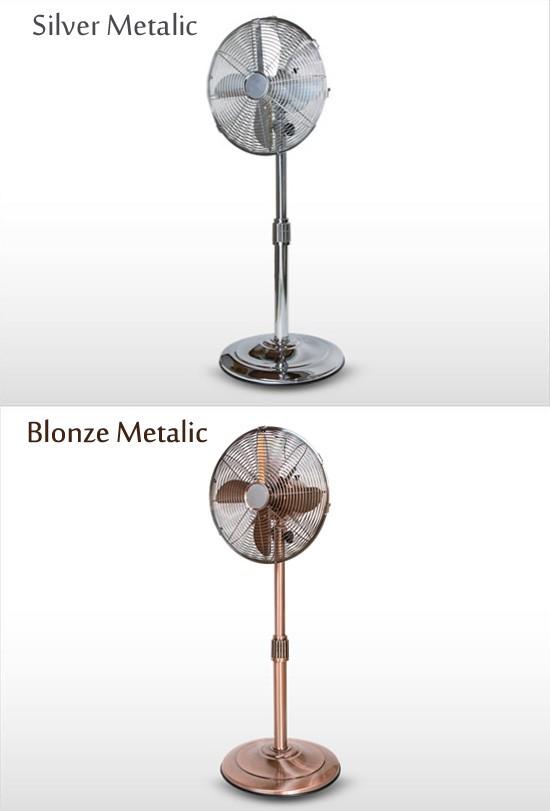 メタリック扇風機