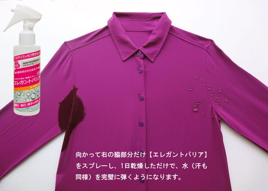 シャツの黄ばみ対策
