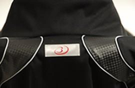 シェイプスーツの反射素材