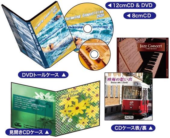 DVDケースにもラベル作成