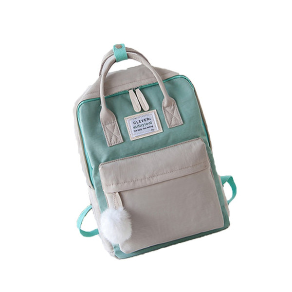キッズリュック 子供 通園バッグ ミックスカラー 女の子 男の子 保育園バッグ リュックカバン 鞄 かばん 可愛い ファッション meet17 11