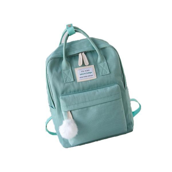 キッズリュック 子供 通園バッグ ミックスカラー 女の子 男の子 保育園バッグ リュックカバン 鞄 かばん 可愛い ファッション meet17 12