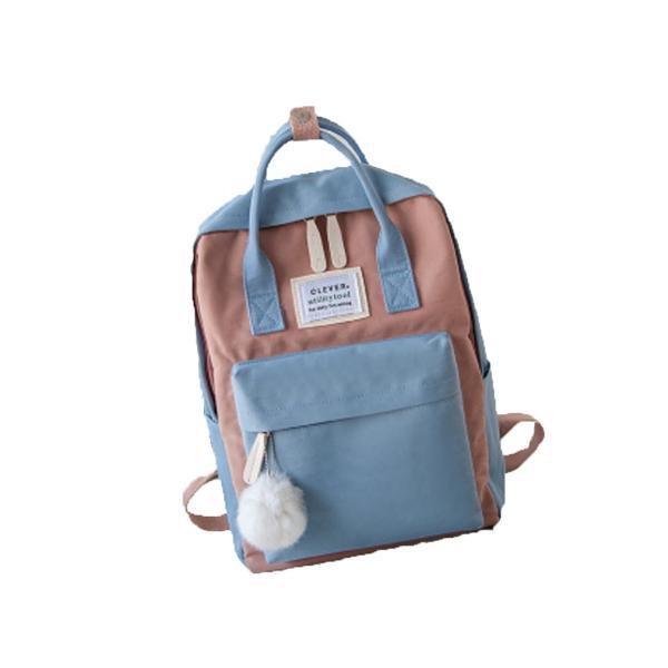 キッズリュック 子供 通園バッグ ミックスカラー 女の子 男の子 保育園バッグ リュックカバン 鞄 かばん 可愛い ファッション meet17 13