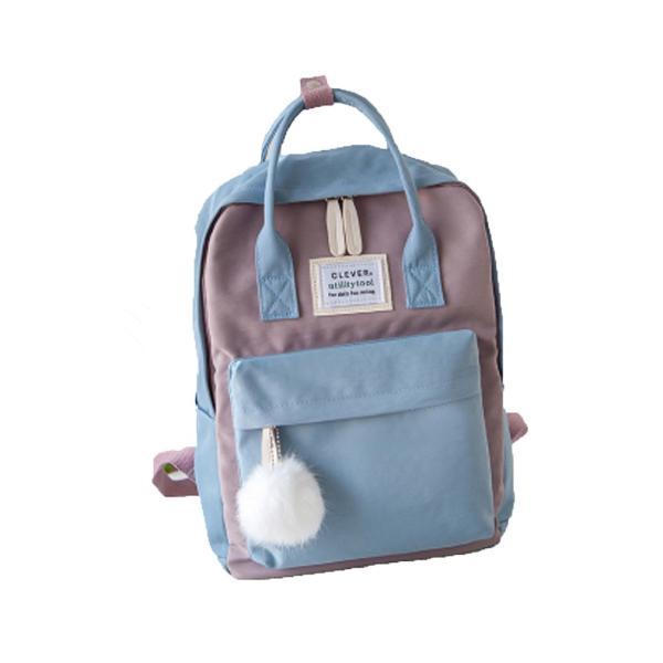 キッズリュック 子供 通園バッグ ミックスカラー 女の子 男の子 保育園バッグ リュックカバン 鞄 かばん 可愛い ファッション meet17 14