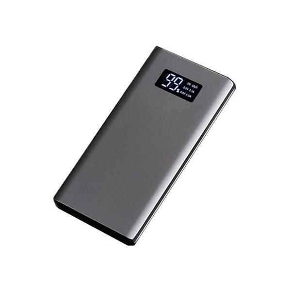 10000mAh モバイルバッテリー 大容量 スマホ充電器 超薄型 軽量 USB2ポート 2台同時充電可能 LED液晶画面 残量表示 急速充電 2.1A 携帯充電器 iphoneX【PL保険】|meiseishop|20