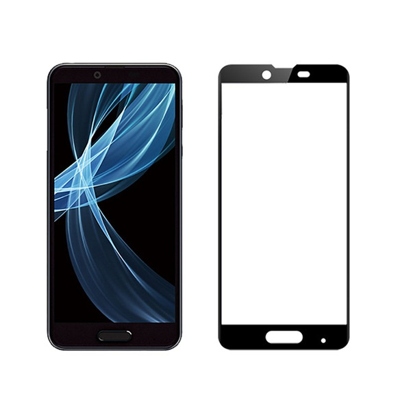 Android One X4 3D全面保護ガラスフィルム AQUOS Sense Plus SH-M07 曲面 強化ガラス保護フィルム Android One X4 剛柔ガラス AQUOS Sense Plus ソフトフレーム|meiseishop|21