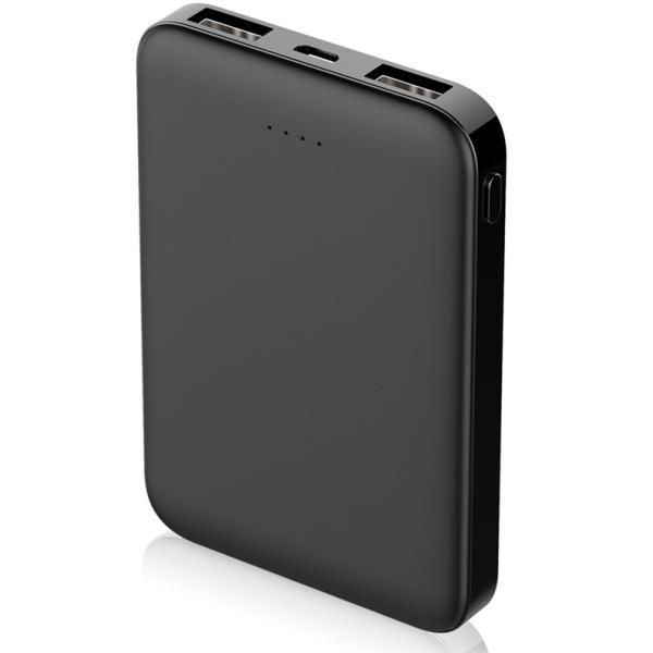 モバイルバッテリー 6800mAh 大容量 超小型 ミニ型 超薄型 軽量 最小最軽最薄 急速充電 USB2ポート 楽々収納 携帯充電器 コンパクト スマホ充電器 PL保険|meiseishop|22