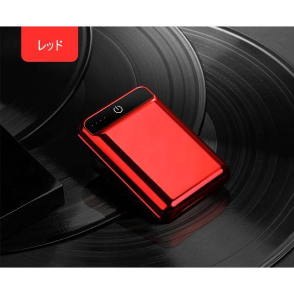 10000mAh 大容量 モバイルバッテリー 急速充電 2.1A スマホ充電器 小型 軽量 USB2ポート 2台同時充電可能 LED液晶画面 残量表示 携帯充電器 iphoneX【PL保険】|meiseishop|12