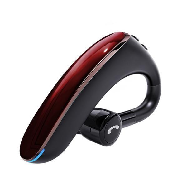ブルートゥースイヤホン5.0 左右耳通用 ワイヤレスイヤホン Bluetooth 5.0耳掛け型最高音質 日本語音声 180度回転 超長待機 ヘッドセット 片耳|meiseishop|24