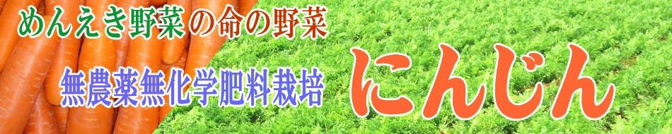 めんえき野菜(免疫野菜)の無農薬にんじん
