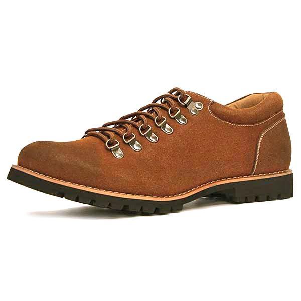 マウンテンブーツ メンズ 靴 ショート 短靴 カジュアル シューズ スウェード レザー|mens-sanei|26