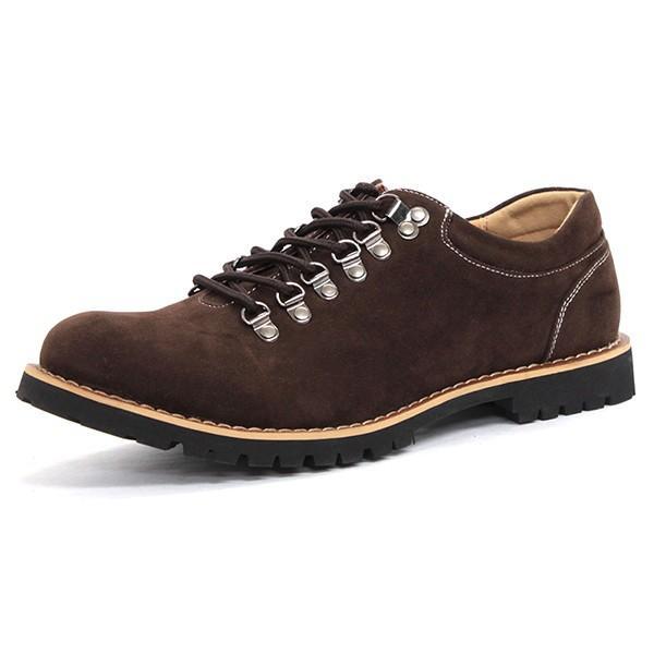 マウンテンブーツ メンズ 靴 ショート 短靴 カジュアル シューズ スウェード レザー|mens-sanei|29