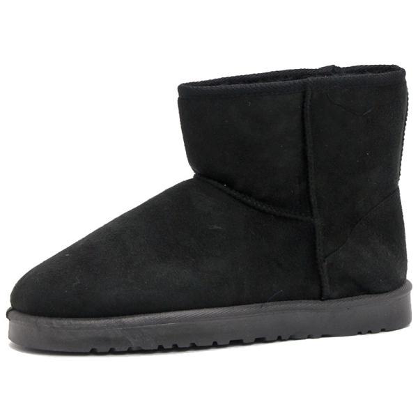 ムートンブーツ ショートブーツ ムートン メンズ 靴 冬 ボア ファー カジュアル シューズ スウェード 対象商品2足の購入で3600円(税別)|mens-sanei|17