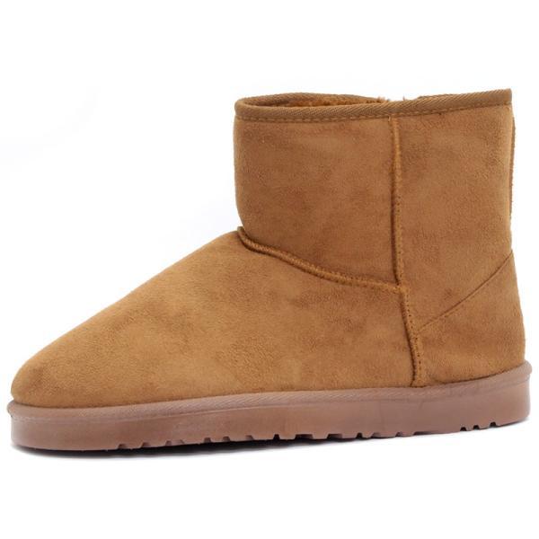 ムートンブーツ ショートブーツ ムートン メンズ 靴 冬 ボア ファー カジュアル シューズ スウェード 対象商品2足の購入で3600円(税別)|mens-sanei|18