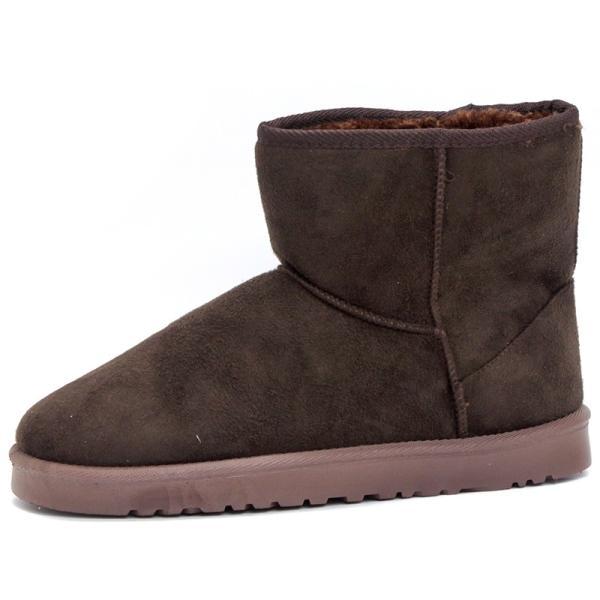 ムートンブーツ ショートブーツ ムートン メンズ 靴 冬 ボア ファー カジュアル シューズ スウェード 対象商品2足の購入で3600円(税別)|mens-sanei|19