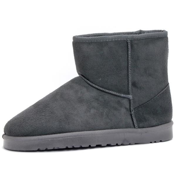 ムートンブーツ ショートブーツ ムートン メンズ 靴 冬 ボア ファー カジュアル シューズ スウェード 対象商品2足の購入で3600円(税別)|mens-sanei|21