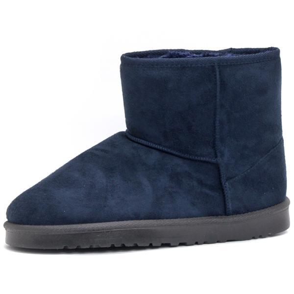 ムートンブーツ ショートブーツ ムートン メンズ 靴 冬 ボア ファー カジュアル シューズ スウェード 対象商品2足の購入で3600円(税別)|mens-sanei|20