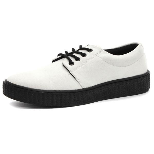 レースアップスニーカー 厚底 外羽根 メンズ 紳士 靴 カジュアル シューズ 対象商品2足の購入で6000円(税別)|mens-sanei|09