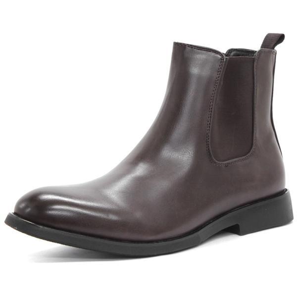 サイドゴアブーツ メンズ 紳士靴 カジュアル 対象商品2足の購入で8000円(税別) mens-sanei 08