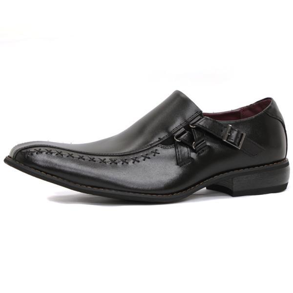 ビジネスシューズ 革靴 メンズ 日本製天然皮革 2足セット 対象商品2足の購入で8000円(税別) 外羽根 スワールモカ ダブルモンクストラップ スリッポン ローファー|mens-sanei|16