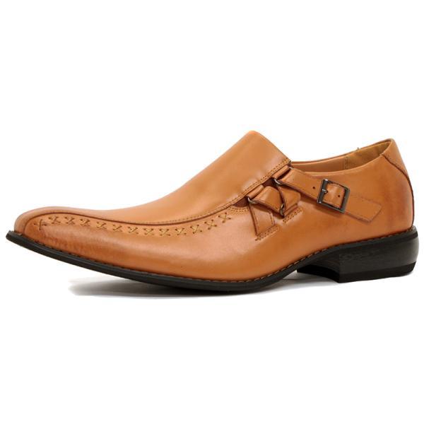 ビジネスシューズ 革靴 メンズ 日本製天然皮革 2足セット 対象商品2足の購入で8000円(税別) 外羽根 スワールモカ ダブルモンクストラップ スリッポン ローファー|mens-sanei|18