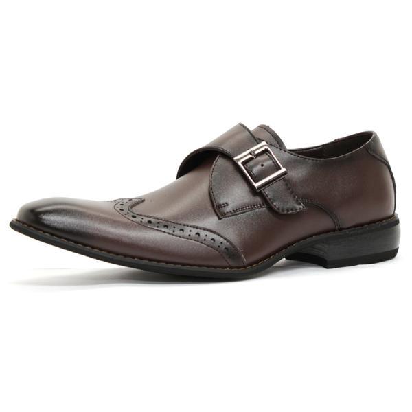 ビジネスシューズ 革靴 メンズ 日本製天然皮革 2足セット 対象商品2足の購入で8000円(税別) 外羽根 スワールモカ ダブルモンクストラップ スリッポン ローファー|mens-sanei|20