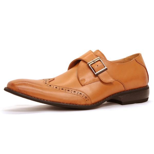ビジネスシューズ 革靴 メンズ 日本製天然皮革 2足セット 対象商品2足の購入で8000円(税別) 外羽根 スワールモカ ダブルモンクストラップ スリッポン ローファー|mens-sanei|21