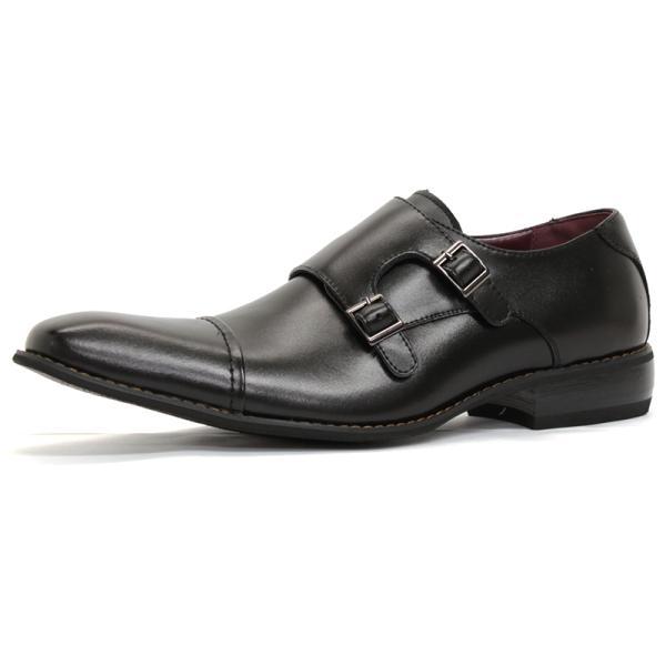 ビジネスシューズ 革靴 メンズ 日本製天然皮革 2足セット 対象商品2足の購入で8000円(税別) 外羽根 スワールモカ ダブルモンクストラップ スリッポン ローファー|mens-sanei|22