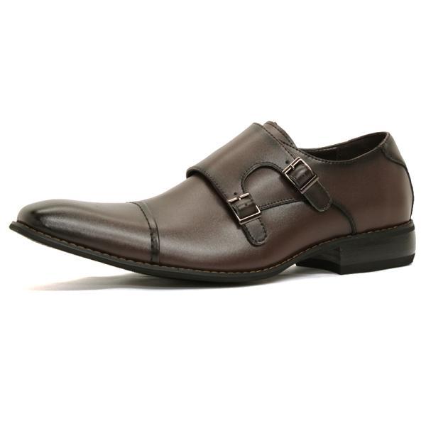 ビジネスシューズ 革靴 メンズ 日本製天然皮革 2足セット 対象商品2足の購入で8000円(税別) 外羽根 スワールモカ ダブルモンクストラップ スリッポン ローファー|mens-sanei|23