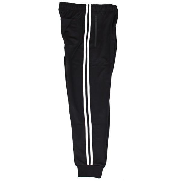 ジョガーパンツ メンズ トラックパンツ ジャージ 下 ワイドライン イージーパンツ サイドライン 1本 2本 ボトムス スポーツウェア トレーニング|menscasual|29